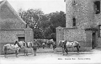 Photo: Athis - Grande Rue - Ferme d'Athis (A. Breger Frères, Phototypie)