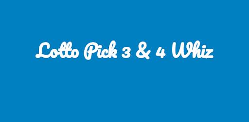 Lotto Pick 3 Whiz &amp; 4 Whiz<br>Lotto Pick 4 Whiz Advanced