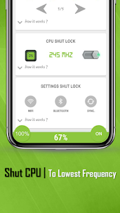 ShutApp: Real Battery Saver Screenshot