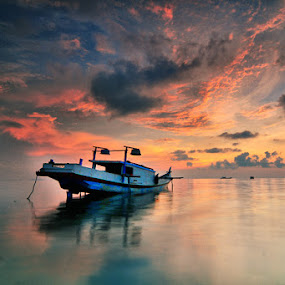 My Sky by Rawi Wie - Transportation Boats