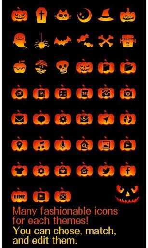 Funny Theme-Jack O' Lantern- 1.0.0 Windows u7528 4