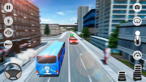 Coach Bus Simulator 2020: Modern Bus Drive 3D Game  Wallpaper 6