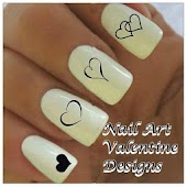 Nail Art Valentine Designs