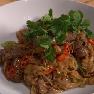 Alvin Leung's Beef Stir-Fry with Rice Noodles