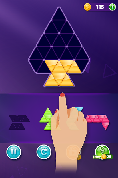 Block! Triangle puzzle: Tangram Android App Screenshot