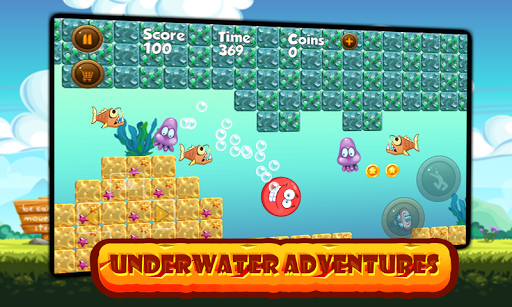 Super Red Ball: Red Ball in the Jungle Adventures 1.01.0 screenshots 6