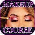 Makeup course. Fashion makeup icon