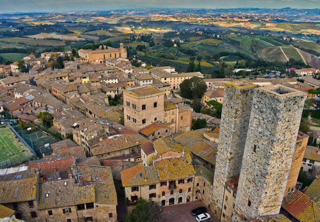Borgo di San Gimignano di valentina_camuncoli