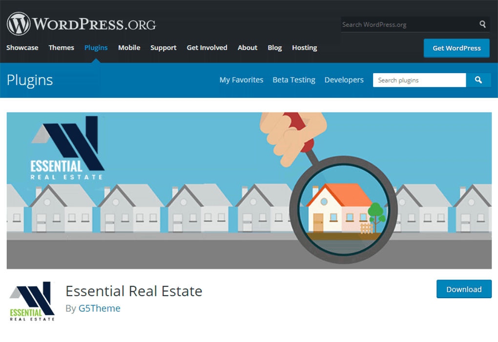 plugin de wordpress essential real estate para venda e aluguel de imoveis