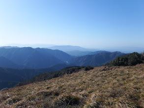 鈴鹿南部(高畑山など)