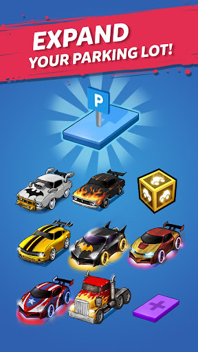 Merge Battle Car: Best Idle Clicker Tycoon game 1.0.76 screenshots 6