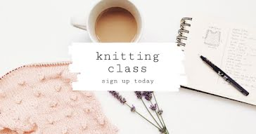 Knitting Class - Facebook Event Cover template