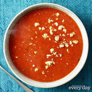 Tomato-Stilton Soup.