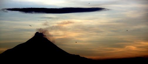 Photo: Mt Merapi at dawn
