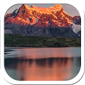 Mountain dawn live wallpaper