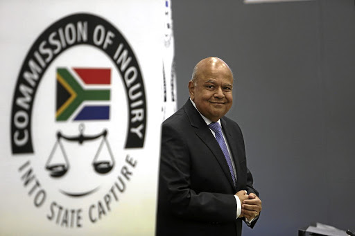 Pravin Gordhan: Highlighted various kinds of misdirection. Picture: Sunday Times/Alon Skuy
