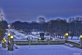 Photo: Vigeland Sculpture Park in Oslo, Norway  ノルウェーのヴィーゲラン彫刻公園。 オスロを訪れたら絶対に訪れて欲しい観光スポット!