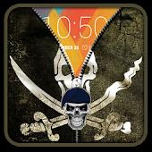 Pirate Flag Zipper UnLock APK for Bluestacks