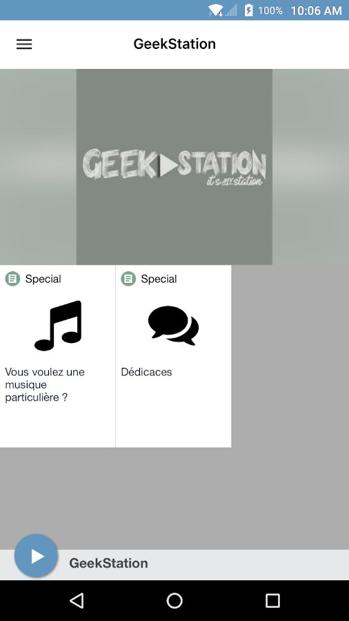 GeekStation- screenshot