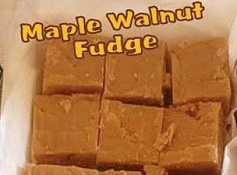 Nanny Pat's Maple Walnut Fudge Recipe