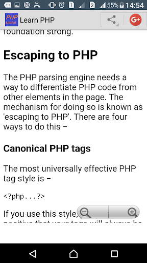 Learn PHP Programming screenshot 2