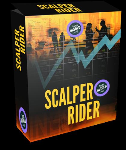 Scalper rider product box on forexuntold.com