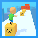 Cube Tower Stack Surfer 3D icon