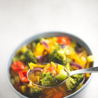 Simple Vegan Detox Soup.