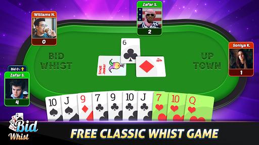 Bid Whist Free u2013 Classic Whist 2 Player Card Game screenshots 3