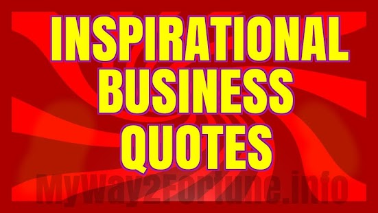 Inspirational Business Quotes- screenshot thumbnail