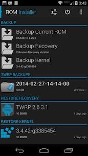 ROM Installer: برنامج التثبيت ROM 4