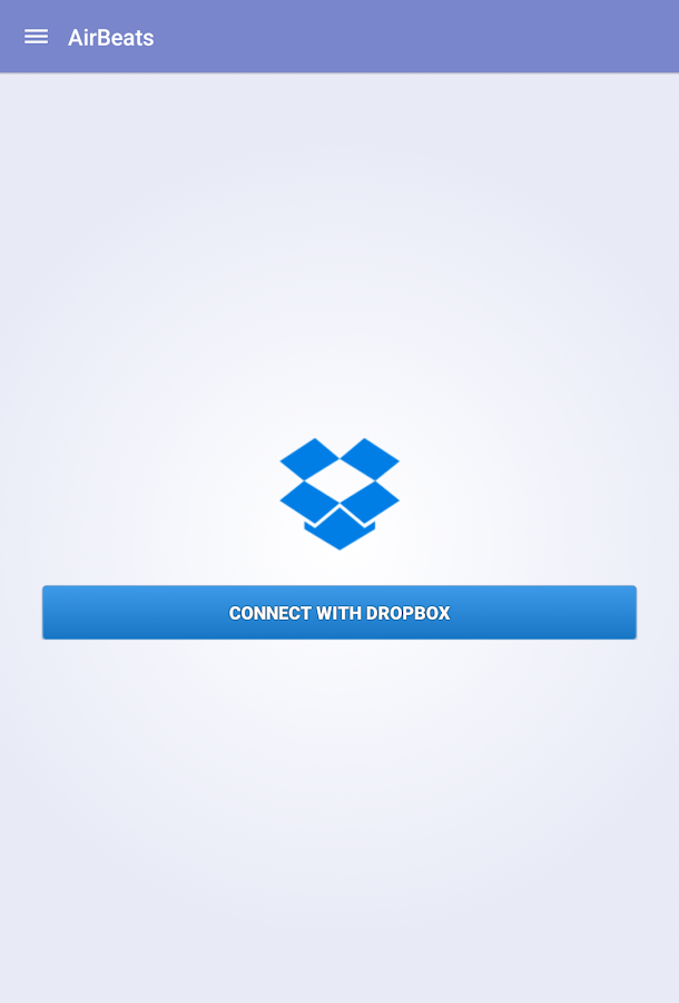 AirBeats -Dropbox Music Player- screenshot