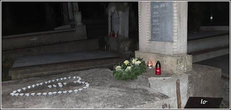 "Photo: Cluj-Napoca - Str. Avram Iancu - Cimitirul Central, mormantul lui Remus Jercau (1925-2017), 'Bunicutu"", autor foto Ioana Zamfira - 2019.07.24"
