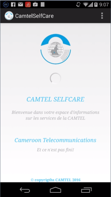 CAMTEL Self Care- screenshot