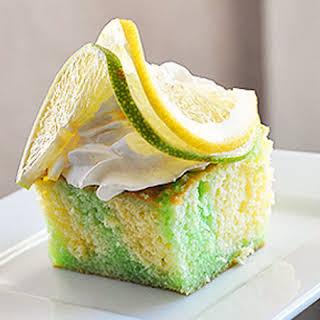 Lemon-Lime Poke Cake.