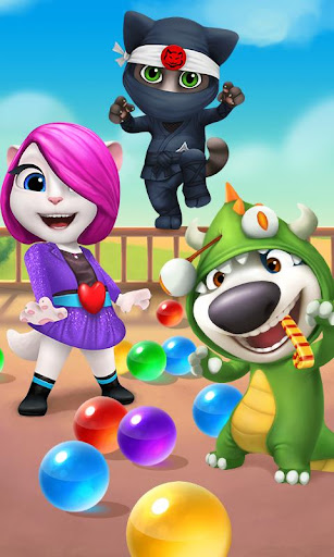 Talking Tom Bubble Shooter 1.5.3.20 screenshots 1