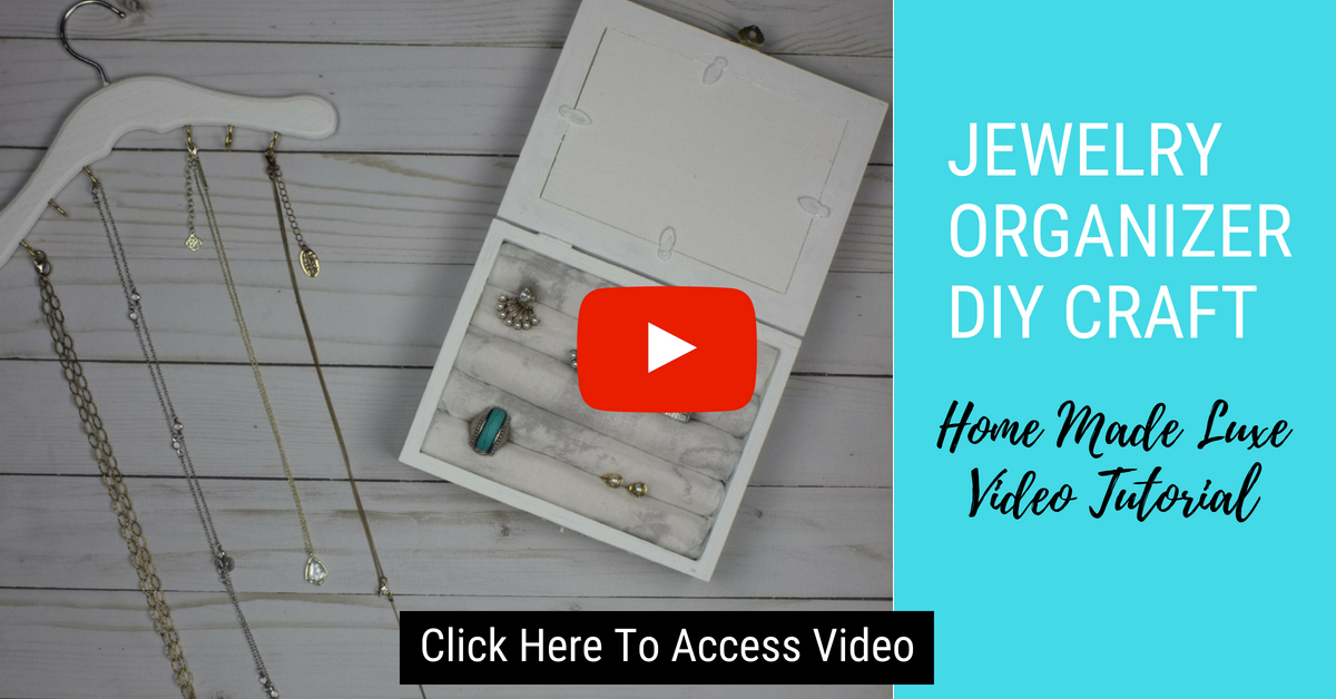 Click here to access jewelry organizer video