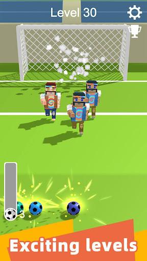 Straight Strike - 3D soccer shot game apkmr screenshots 4