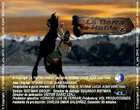 Photo: PORTADA TRASERA DVD TEASER 1303194800210 © Copyright LA TIERRA HABLA, año 2010. IVONNE LUCIA JUAN SANTANA.