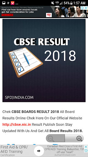 Advance CBSE Results 2018