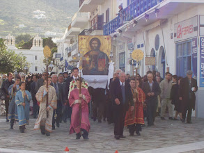 Photo: Procession from Church to harbour.