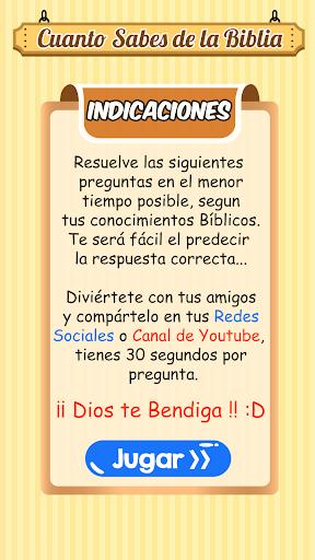 Cuanto Sabes de la Biblia 1.1.8 screenshots 3