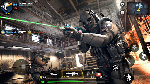 Critical Action :Gun Strike Ops - Shooting Game  screenshots 4