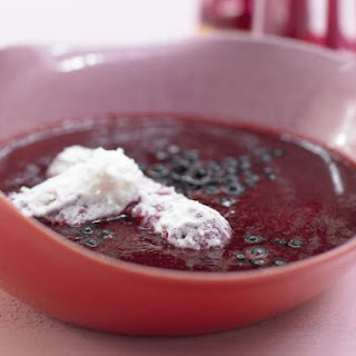 Cold Elderberry Soup.