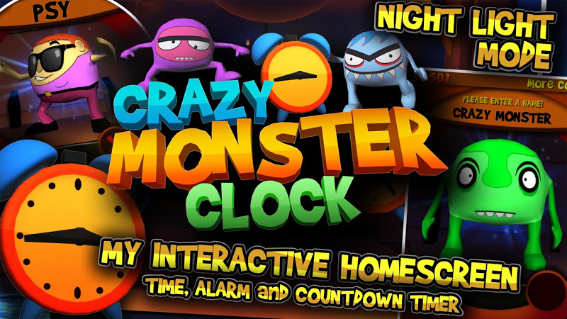 Скриншот Crazy Monster Clock