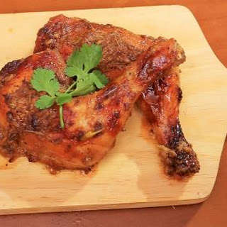 Lemongrass Roast Chicken - Gai Yang Takhrai ไก่ย่างตะไคร้.
