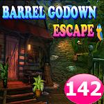 Barrel Godown Escape Game 142 apk