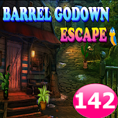 Barrel Godown Escape Game 142