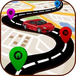 GPS Route Finder - GPS Maps Navigation Directions