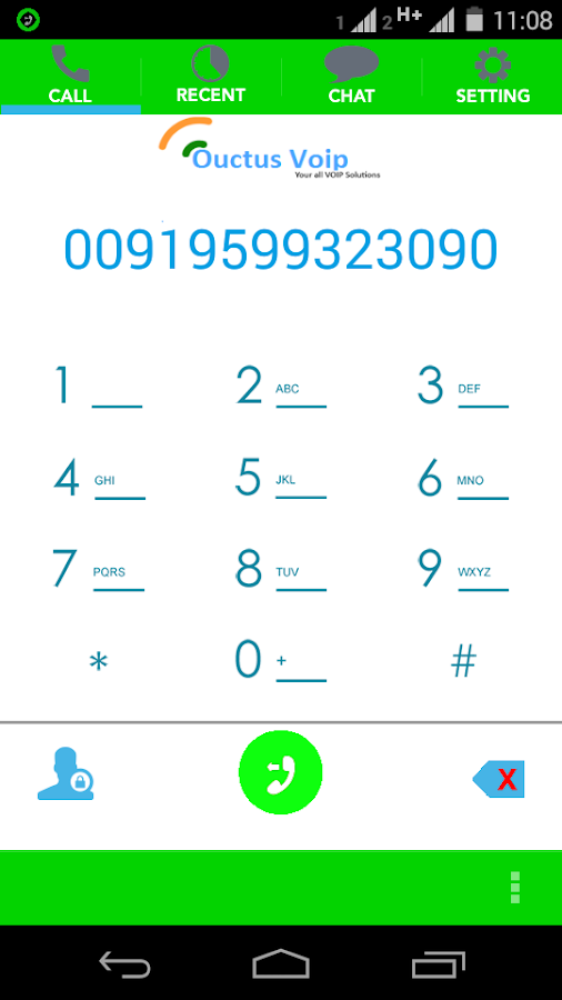 Ouctus VoIP Hybrid Dialer- screenshot